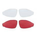 Brýle FORCE LADY bílé, černá skla